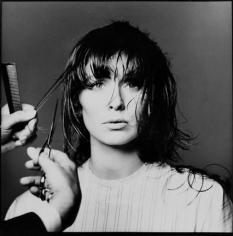 Bert Stern, Suzy Parker's first-ever short haircut, VOGUE, 1964