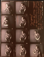 Jack Robinson, Suzy Parker, Contact sheet, 1959