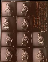 Jack Robinson, Suzy Parker, Contact sheet, 1959