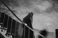 Deborah Turbeville, The Staircase: Commes des Garcons, Passage Vivienne, Paris, 1980