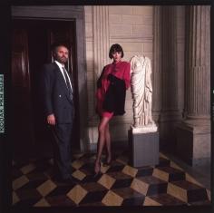 Harry Benson, Versace, Milan, 1987