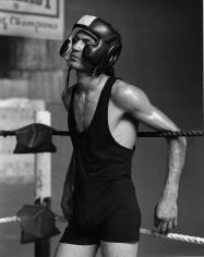 Kurt Markus, Abbe Vega, Gleason's Gym, Brooklyn, New York, 1993