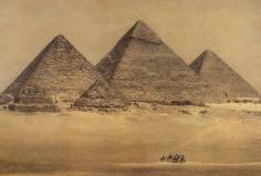 Sheila Metzner, The Great Pyramid. Egypt 1996