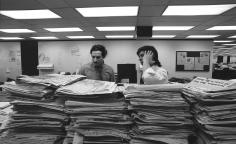 Harry Benson, Bob Woodward and Carl Bernstein, Washington Post, 1973