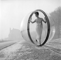 Melvin Sokolsky, After Delvaux, Paris, 1963