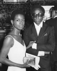Ron Galella, Cicely Tyson and Miles Davis, Cheetah Club, New York, 1968