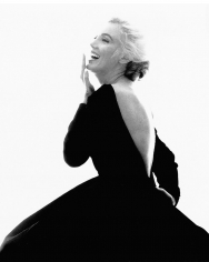 Bert Stern, Marilyn Monroe: From The Last Sitting, 1962 (VOGUE, with Black Dress, Laughing)