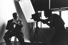 Bert Stern, Louis Armstrong and Bert Stern, 1957 Photographed by Slavomir Vorkopich