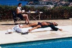Denis Piel, Rosemary McGrotha, Peter Fortier, Un Homme et Une Femme, Cap Ferrat, France, GQ, 1984