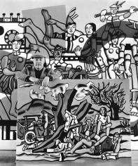 Robert Doisneau, Fernand Leger dans ses Oeuvres, 1954