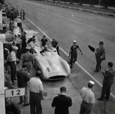 Jesse Alexander, Mercedes W196, Grand Prix of Italy, Monza, Italy, 1955