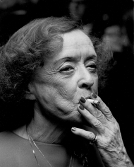 """Ron Galella,  Bette Davis attends the premiere party for """"The Mirror Crack'd"""", Waldorf Astoria, New York, 1980"""