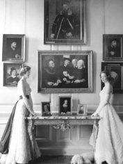 Norman Parkinson, The Little Dining Room, Petworth, 1954