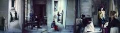 Deborah Turbeville, Emanuel Ungaro, VOGUE, Chateau Raray, France, 1984