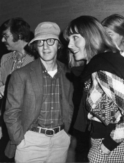 Ron Galella Woody Allen and Diane Keaton at a book party