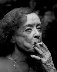 Ron Galella, Bette Davis, 1980