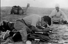 Bert Stern, Bert Stern shooting for Smirnoff, Cairo, Egypt, 1955