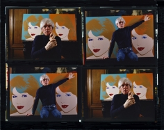 Harry Benson, Andy Warhol, 1983