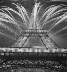 Andre de Dienes, Bastille Day, Eiffel Tower, Paris 1936