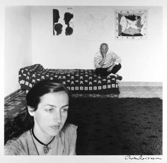 Robert Doisneau, Picasso et Francoise Gilot, Vallauris, France, 1952