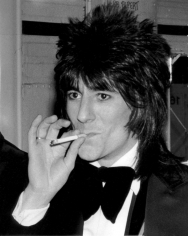 Ron Galella, Ron Wood, 4th Annual American Music Awards, Santa Monica Civic Auditorium, 1977