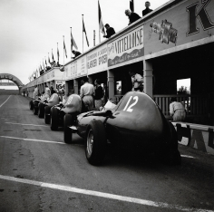 Jesse Alexander, Vanwall Team Cars, Reims, 1958