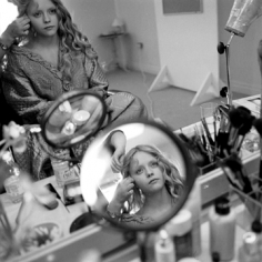 Mary Ellen Mark, Christina Ricci in her dressing room, Sleepy Hollow,  Shepperton Studios, England, 1999