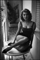 David Seymour, Sophia Loren at Home, Rome, Italy, 1955