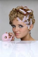 William Helburn, Cheryl Tiegs, Hair Tape, 3M, 1968