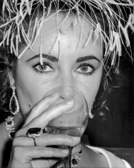 "Ron Galella, Elizabeth Taylor, ""A Flea in Her Ear"" Premiere Party, Paris, 1968"