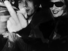 Ron Galella Mick Jagger and Jerry Hall, Beverly Hills, January 16, 1978