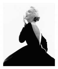 Bert Stern, Marilyn Monroe: From The Last Sitting, 1962 (Black Dress, laughing)