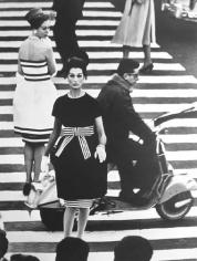 William Klein, Simone and Nina, Piazza di Spagna, Rome, Vogue, 1960