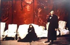 Deborah Turbeville, Two Artists, Sheremetsiev Palace, l'Uomo Vogue, 1996