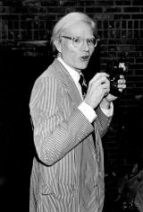 Ron Galella, Andy Warhol, Hermitage Restaurant, New York, 1977