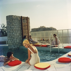 Slim Aarons, Cannellopoulos Penthouse Pool, Athens, Greece, 1961