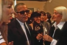 Harry Benson, Karl Lagerfeld and Liz Tilberis, Paris, 1977