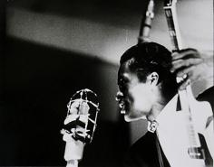 Bert Stern, Chuck Berry, Newport Jazz Festival, 1958