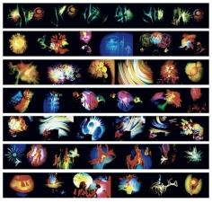 Amalie R. Rothschild,  Joshua Light Show and Joe's Lights Images, Fillmore East, 1969-71