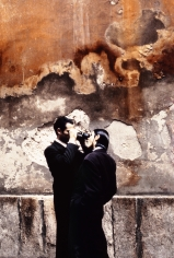 Stephanie Pfriender Stylander, Walled, Harper's Bazaar Uomo, Milan, 1992
