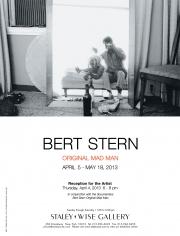 Bert Stern, Exhibition Invitation