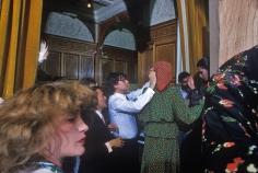 Harry Benson, Yves St. Laurent and Lulu de la Falaise, Paris, 1973