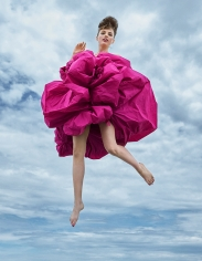 Arthur Elgort, UP, UP, AND AWAY!, Fran Summers, VOGUE UK, 2019