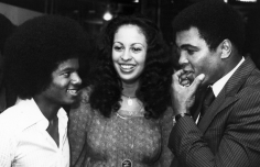 Ron Galella Michael Jackson with Muhammad Ali and his wife Veronica, the Rainbow Room, NYC, August 26, 1977