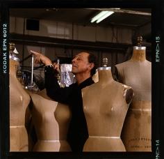 Harry Benson, James Galanos, Los Angeles, 1985