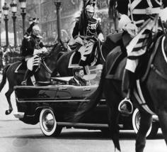 Harry Benson John F. Kennedy and Charles De Gaulle, Paris, 1961