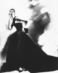 Lillian Bassman, Night Bloom: Anneliese Seubert in Givenchy Haute Couture by John Galliano, New York Times Magazine, Paris, 1996