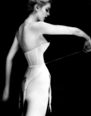 Lillian Bassman It's a cinch, Carmen, lingerie by Warner's, 1951
