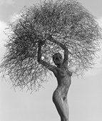 Herb Ritts, Neith With Tumbleweed, Paradise Cove 1986