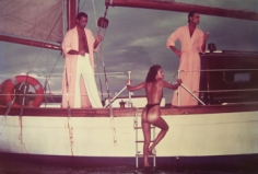 Chris Von Wangenheim, Yacht with Models, Circa 1970